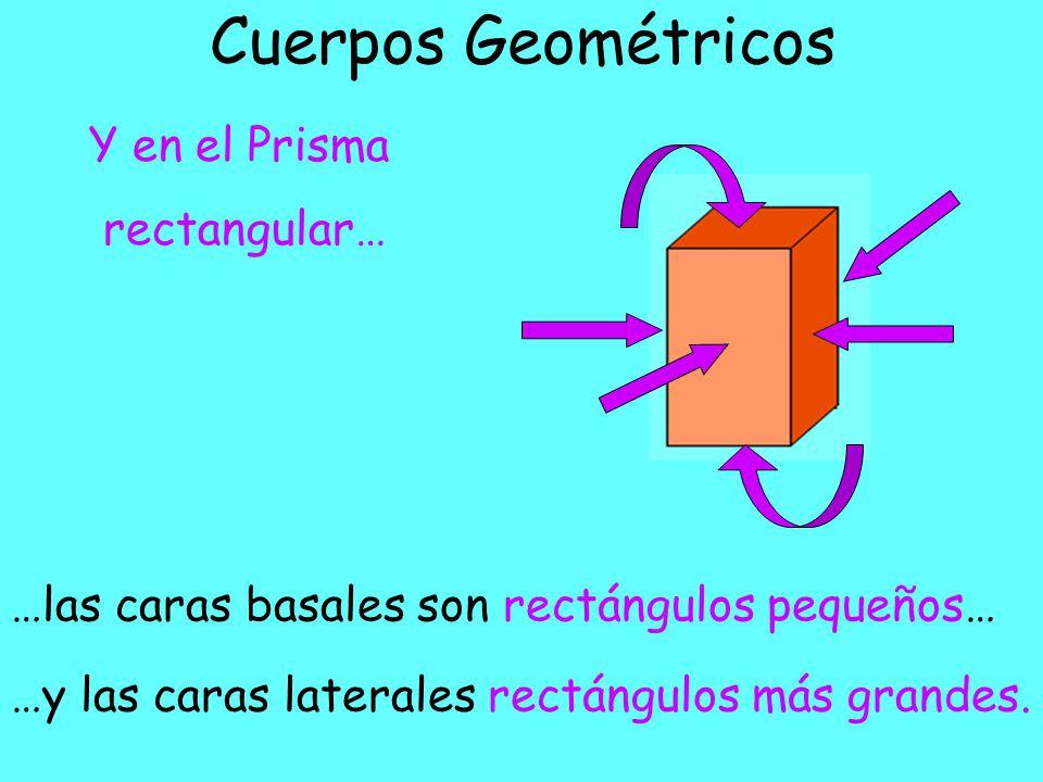 Cuerpos Geométricos Y en el Prisma rectangular…