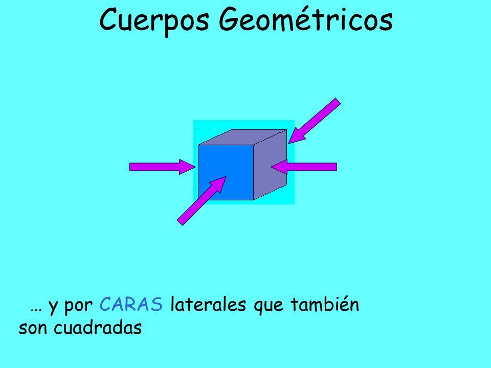Cuerpos Geométricos … y por CARAS laterales que también son cuadradas