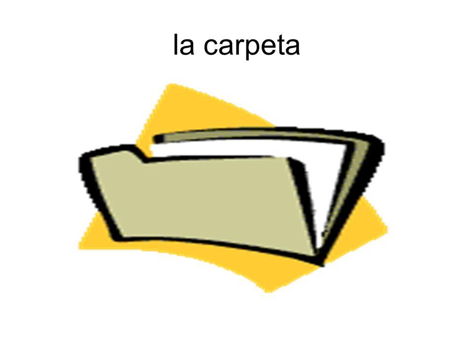 la carpeta