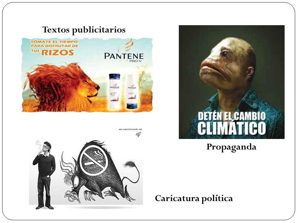 Textos publicitarios Propaganda Caricatura política