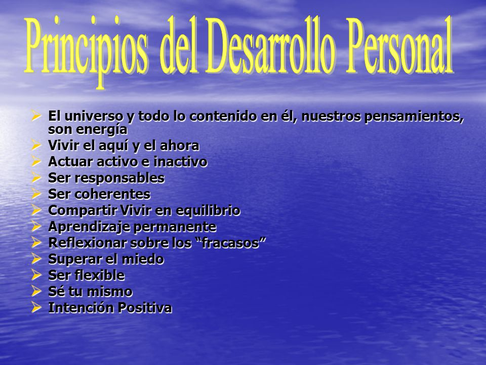 Desarrollo Personal: Desarrollo Personal Desarrollo Personal.