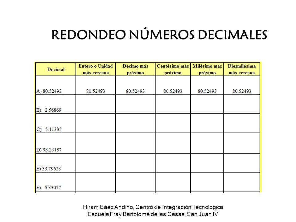 Números Cardinales & Decimales - ppt descargar