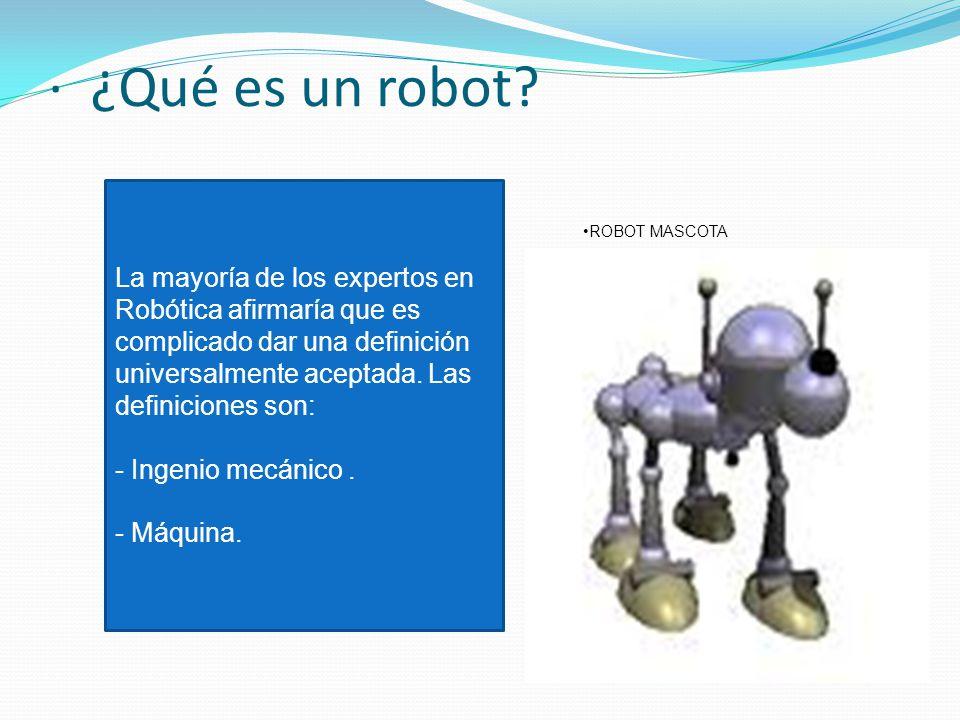 Rob tica que es la rob tica qu es un robot tipos - Que hace un robot de cocina ...