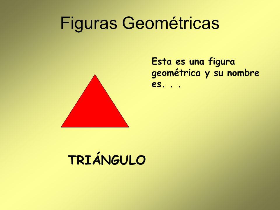Figuras Geométricas TRIÁNGULO