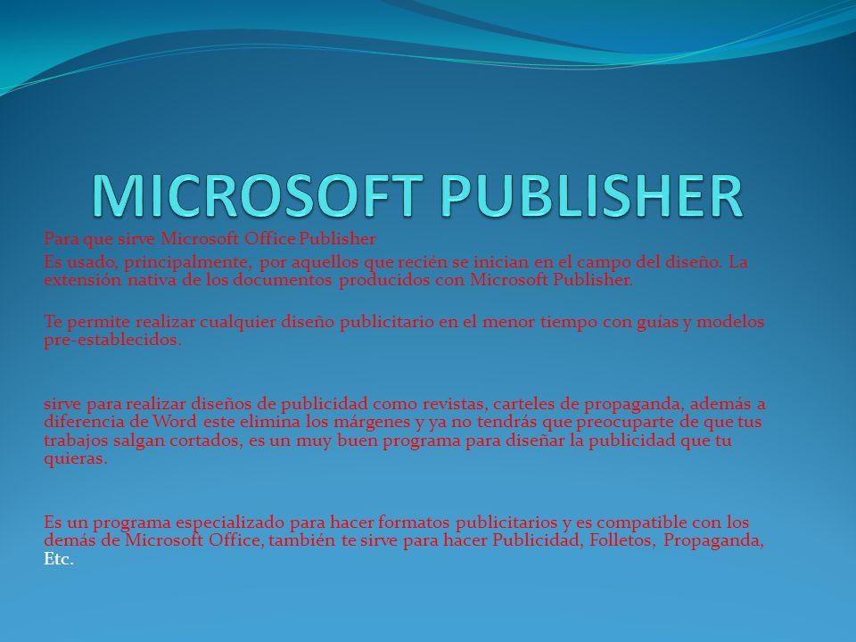 Para Que Sirve Microsoft Power Publisher Software - vopriority
