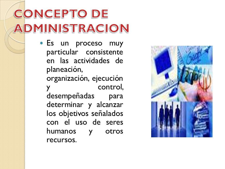 Concepto de administracion ppt video online descargar for Nociones basicas de oficina concepto