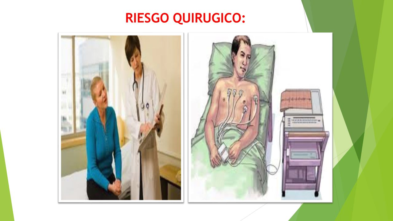 RIESGO QUIRUGICO: