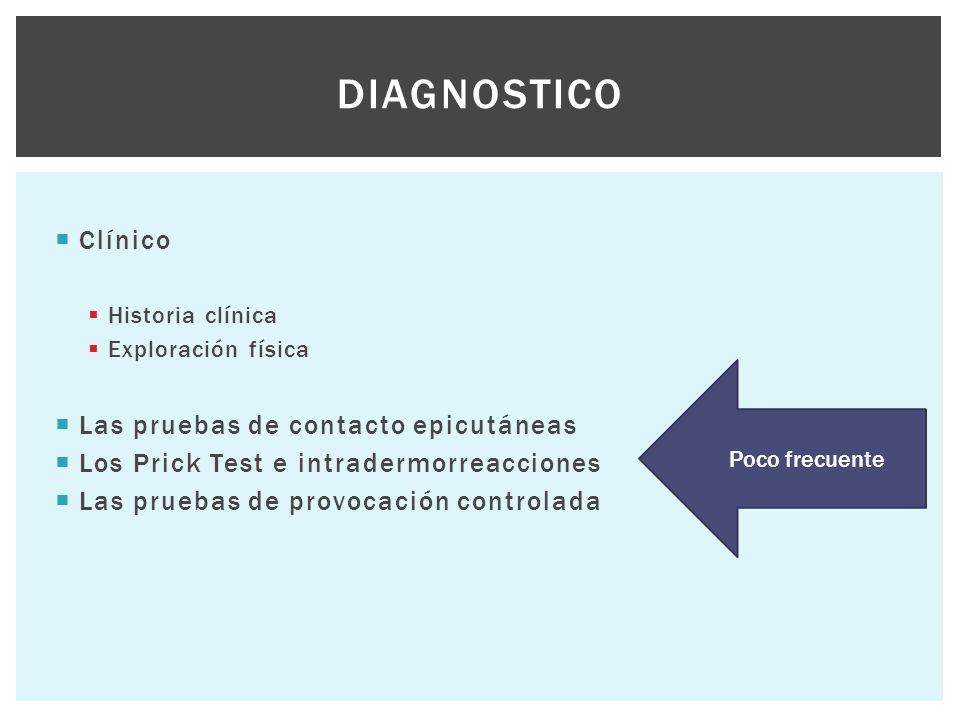 Diagnostico Clínico Las pruebas de contacto epicutáneas