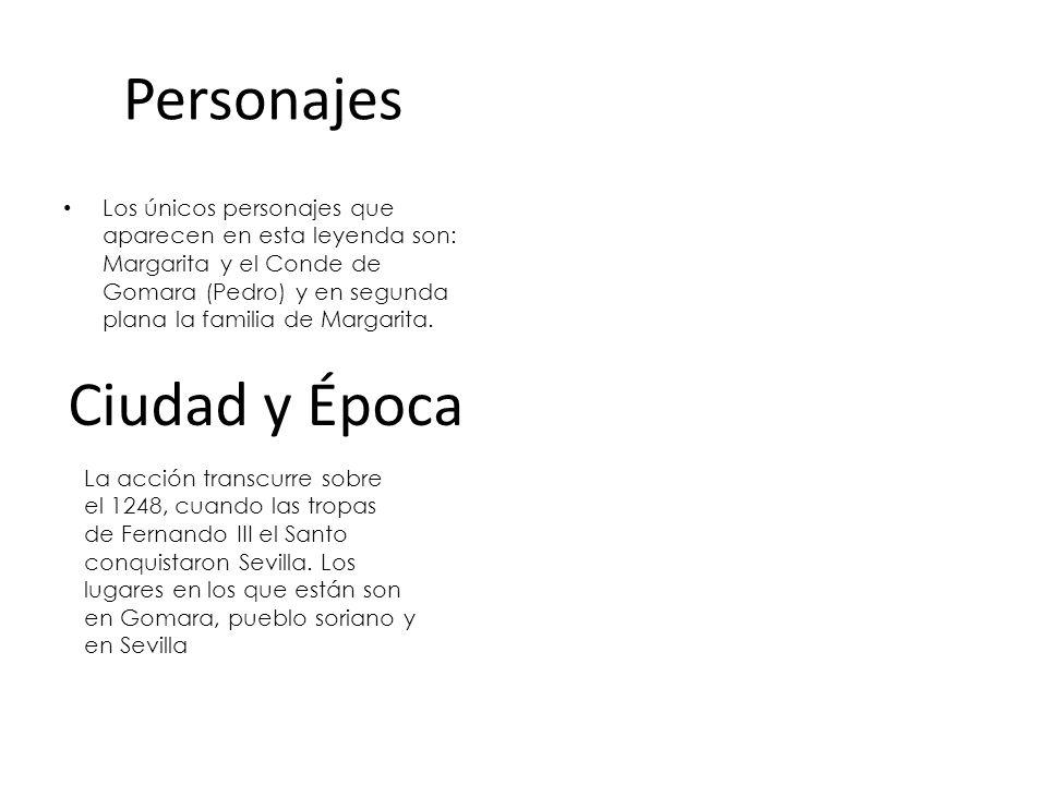 Personajes Ciudad y Época
