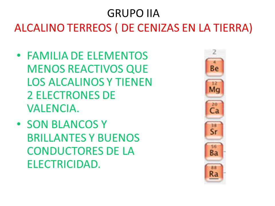 Bloque 4 explicars las propiedades y caractersticas de los grupos 31 grupo iia urtaz Gallery