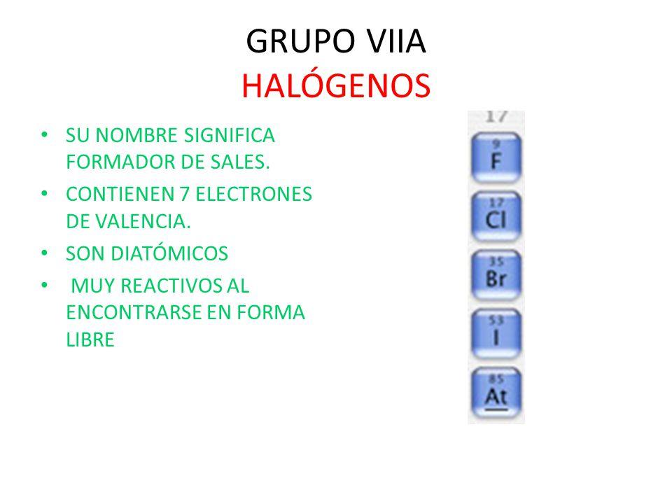 Bloque 4 explicars las propiedades y caractersticas de los grupos 36 grupo viia halgenos urtaz Image collections