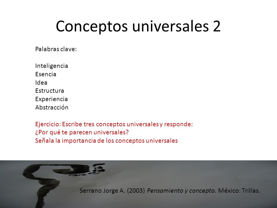 Conceptos universales 2