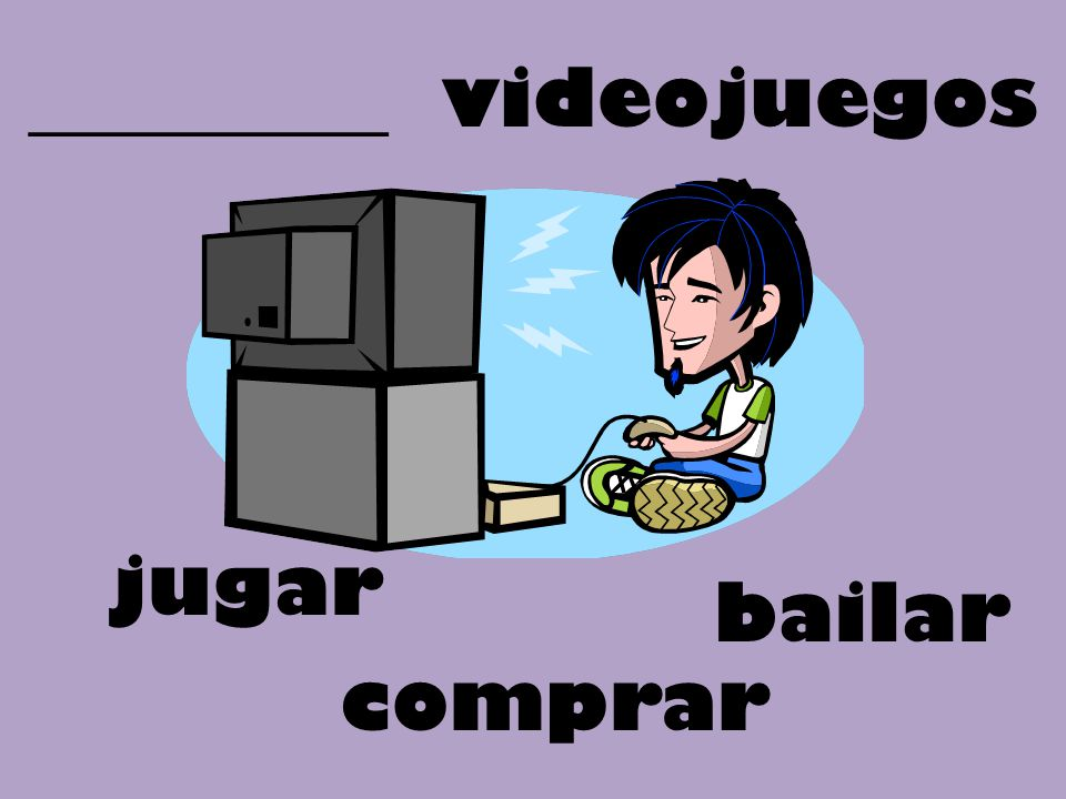 _________ videojuegos