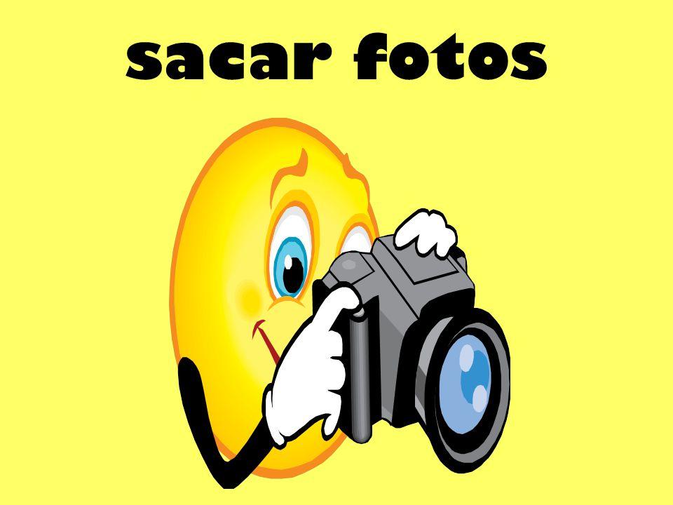 sacar fotos