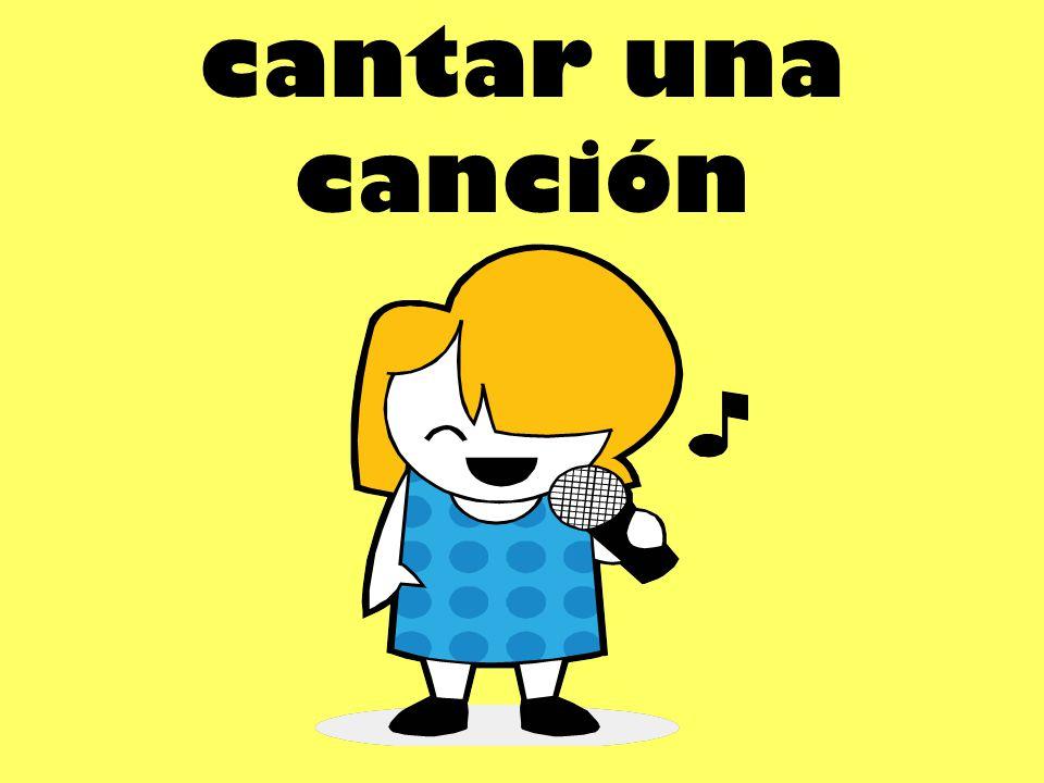 cantar una canción