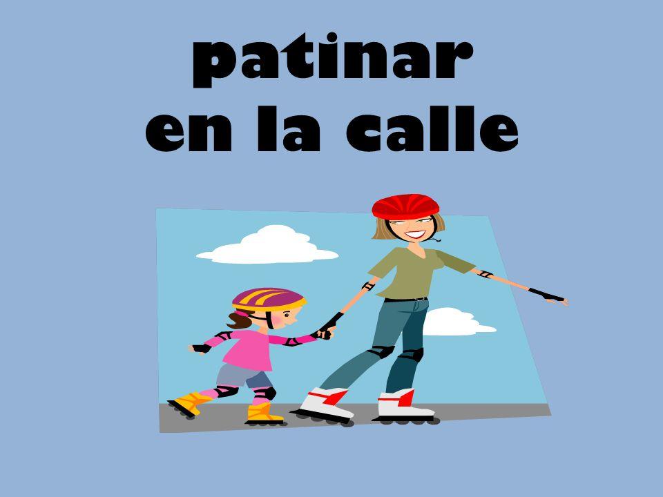 patinar en la calle