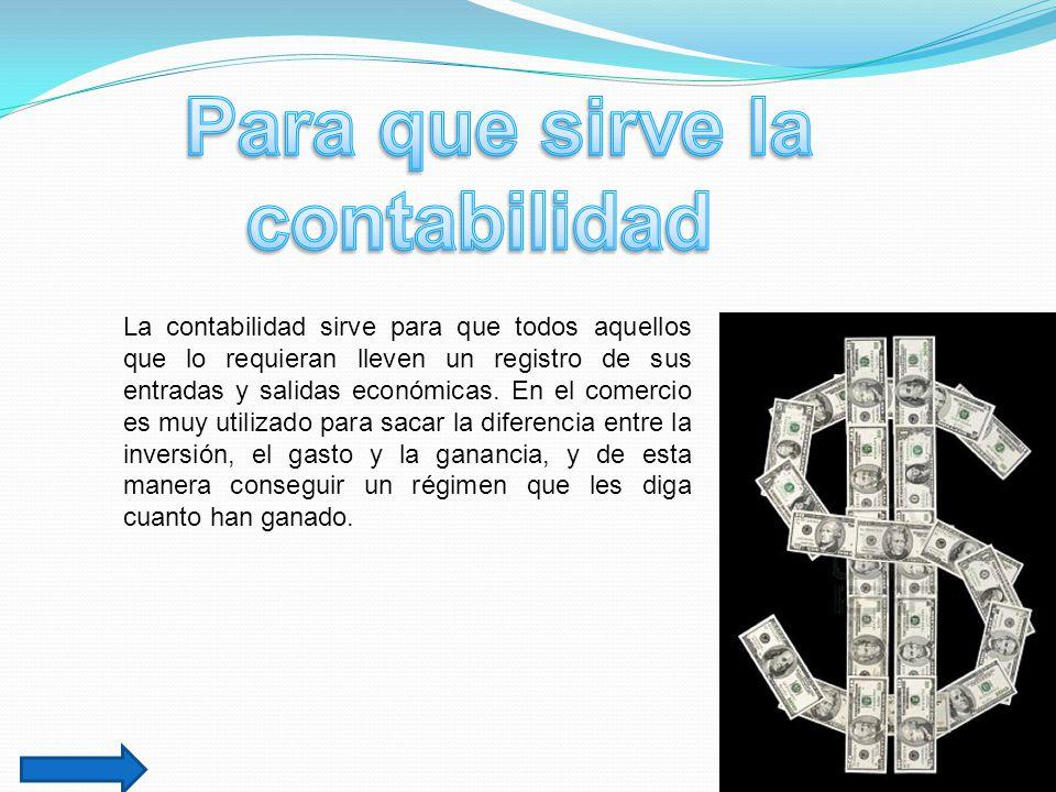 Historia sobre contabilidad ppt video online descargar for Para que sirve la ergonomia