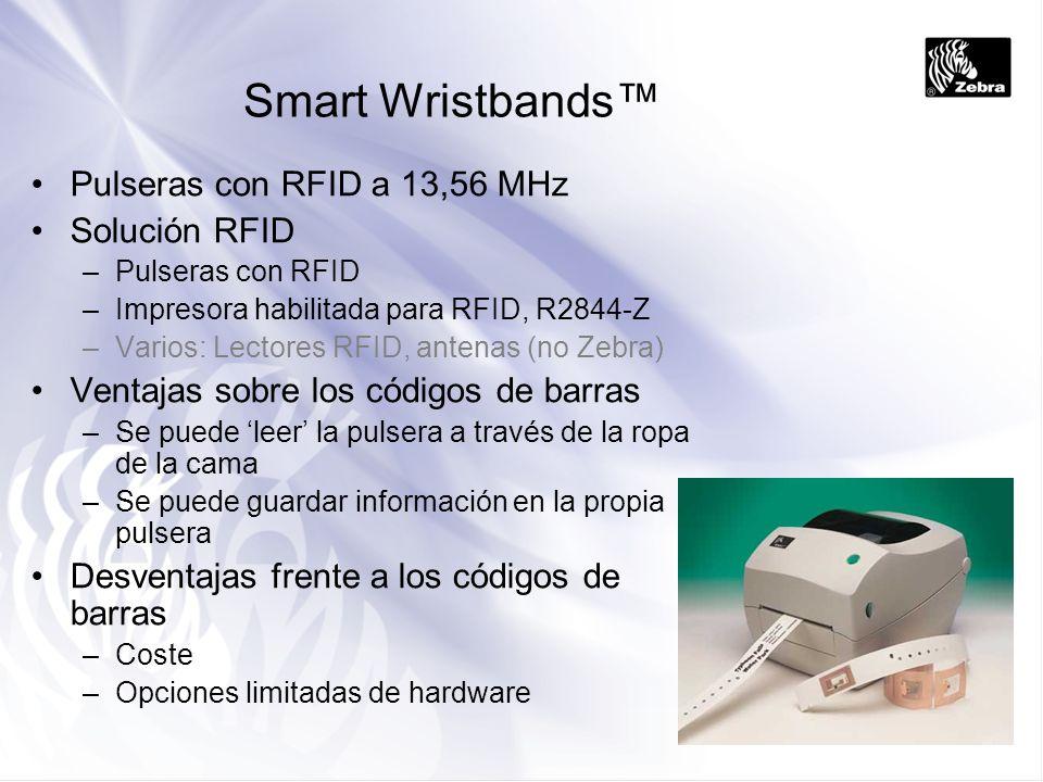 Smart Wristbands™ Pulseras con RFID a 13,56 MHz Solución RFID