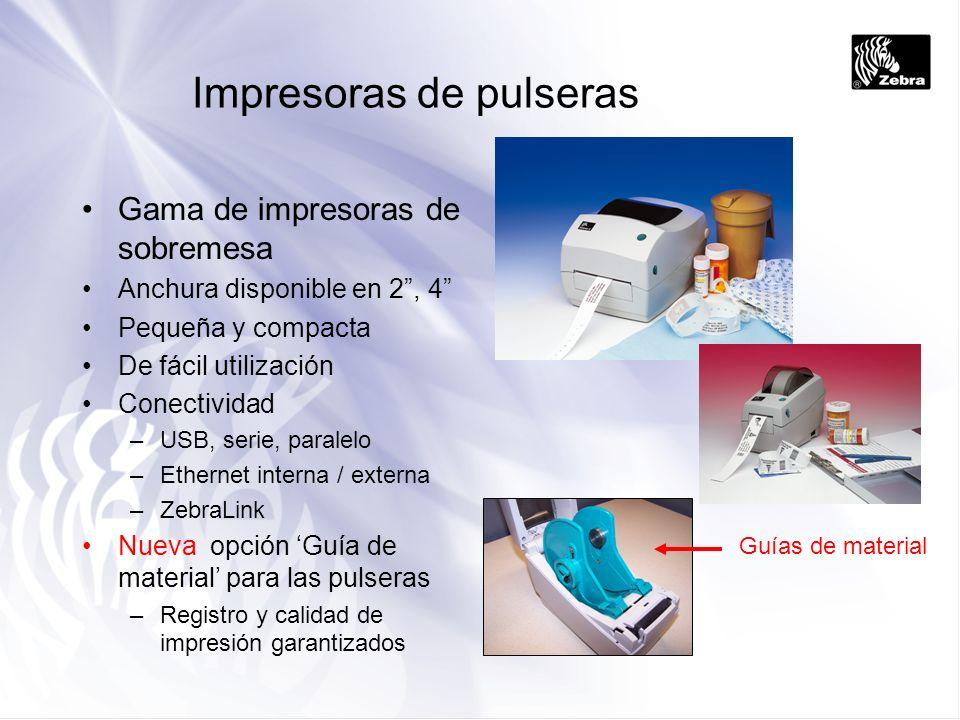 Impresoras de pulseras