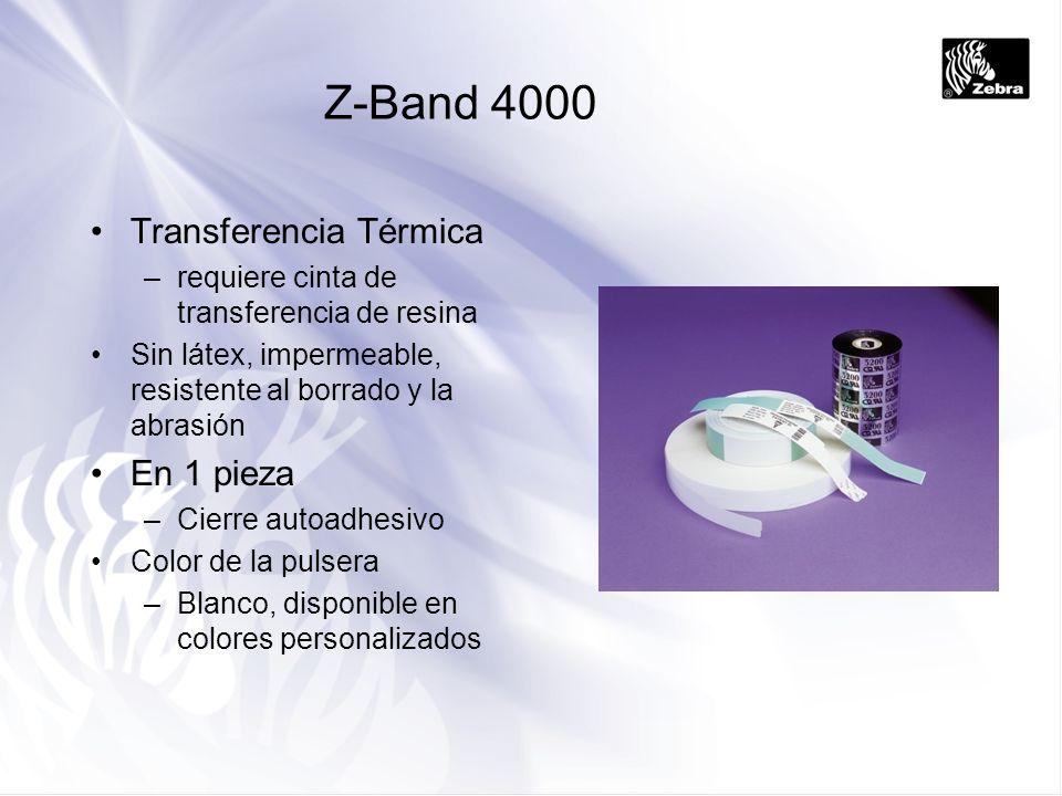 Z-Band 4000 Transferencia Térmica En 1 pieza