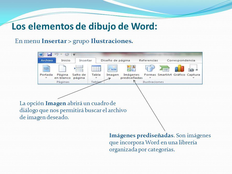 Formas y SmartArt en Word  ppt descargar