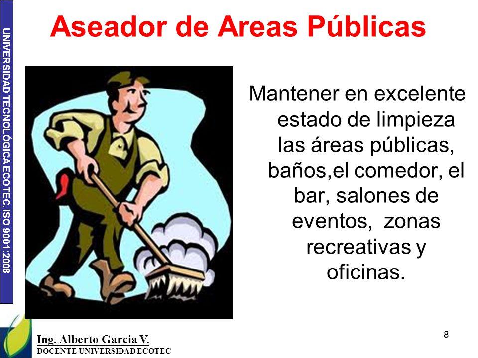 Aseador de Areas Públicas