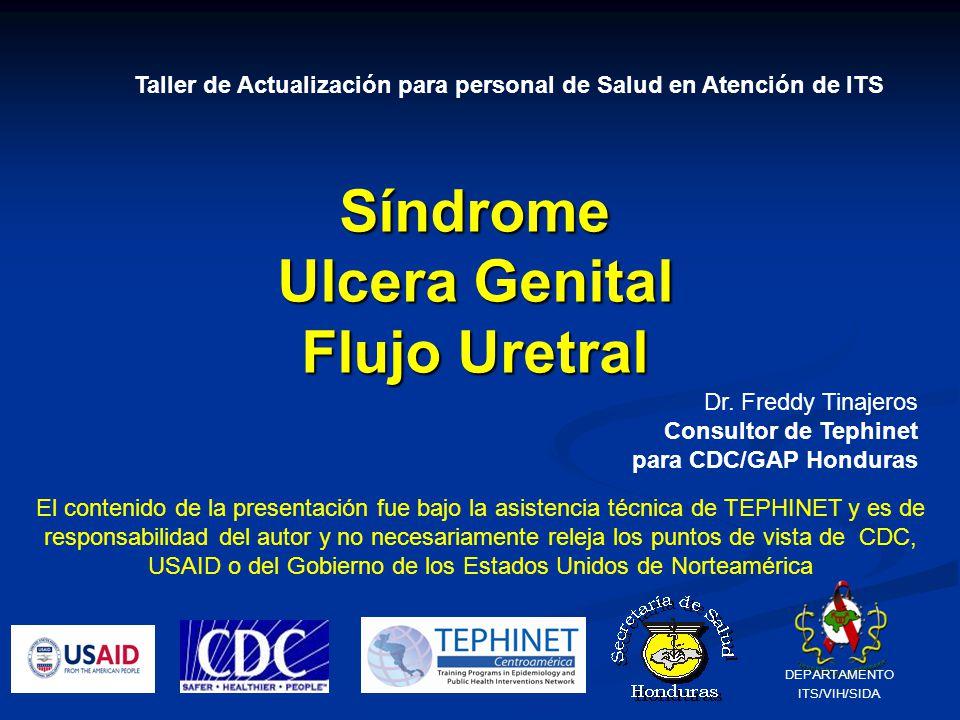 Síndrome Ulcera Genital Flujo Uretral