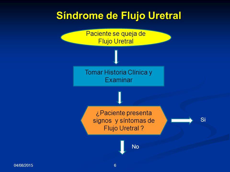 Síndrome de Flujo Uretral