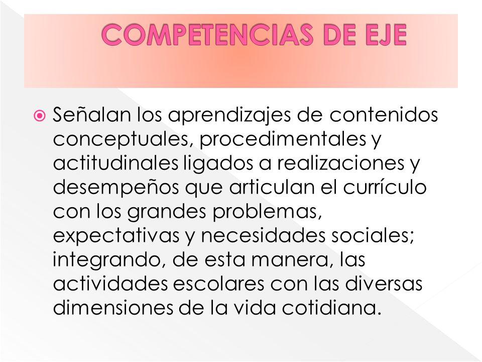 COMPETENCIAS DE EJE