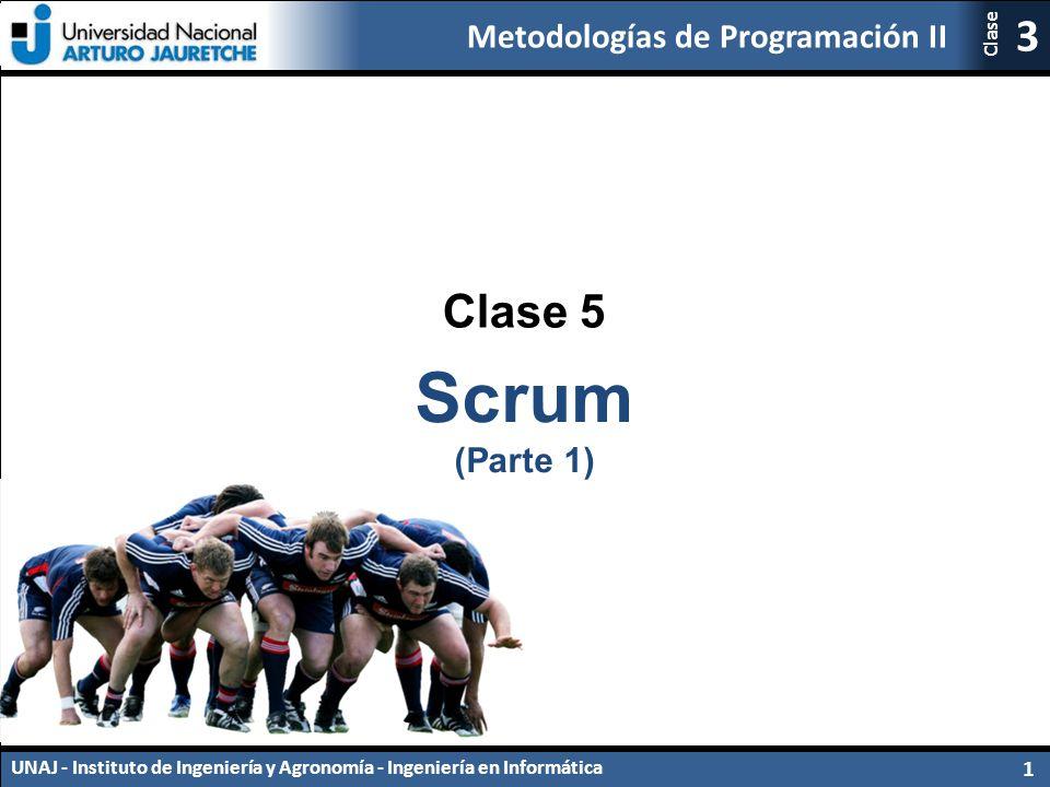 Clase 5 Scrum (Parte 1)