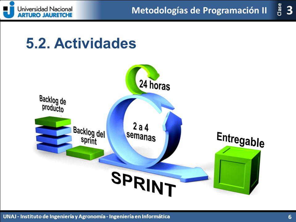 5.2. Actividades