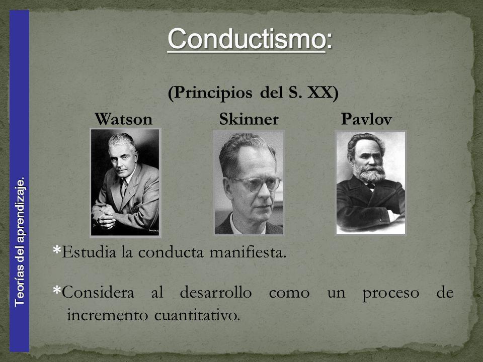 Resultado de imagen de conductismo watson skinner