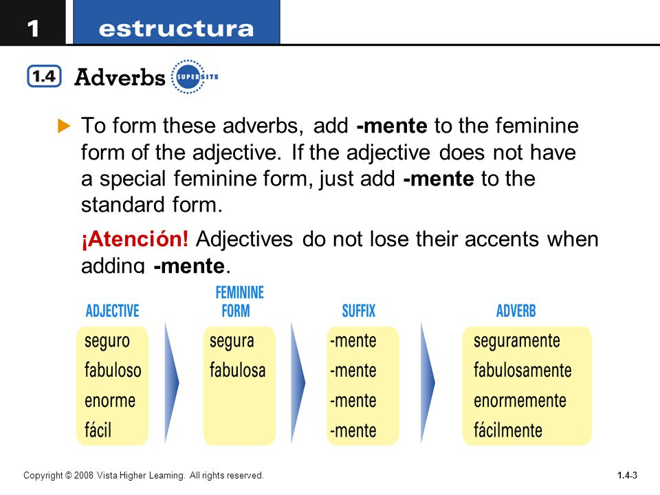 Adverbs are words that describe how, when, and where actions take ...
