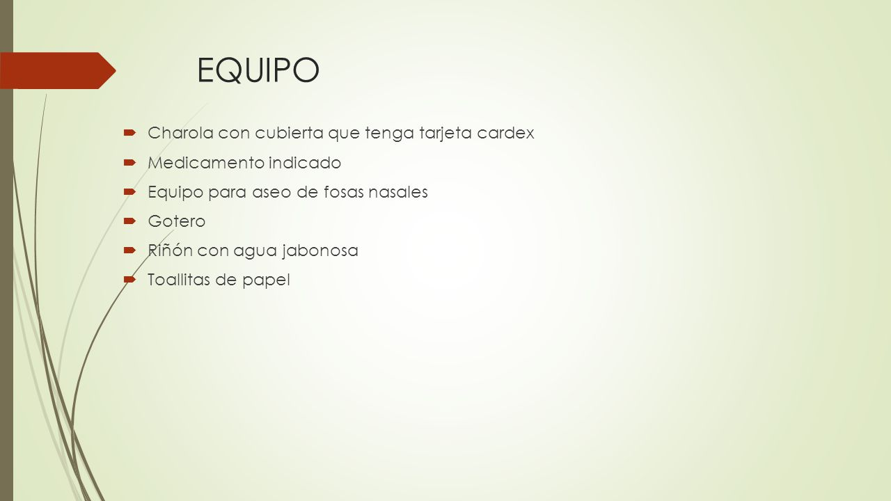 EQUIPO Charola con cubierta que tenga tarjeta cardex