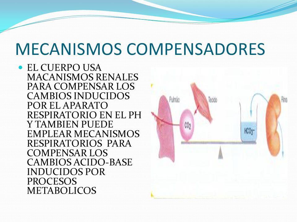 MECANISMOS COMPENSADORES