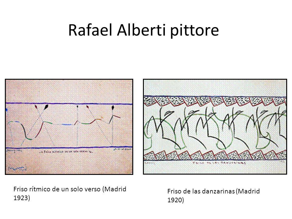 Rafael Alberti pittore