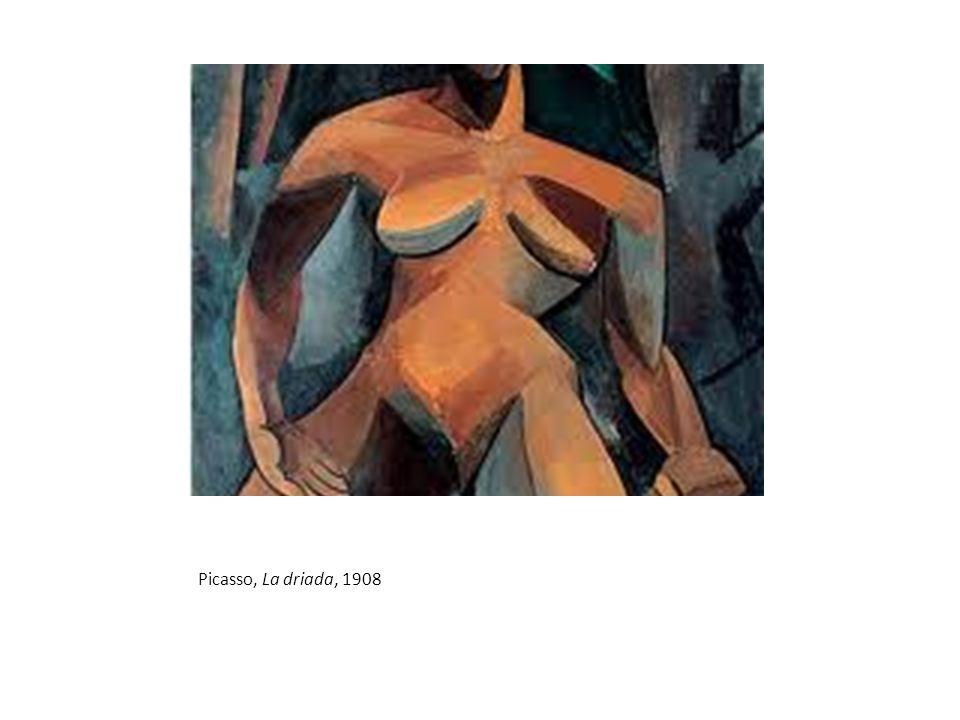 Picasso, La driada, 1908