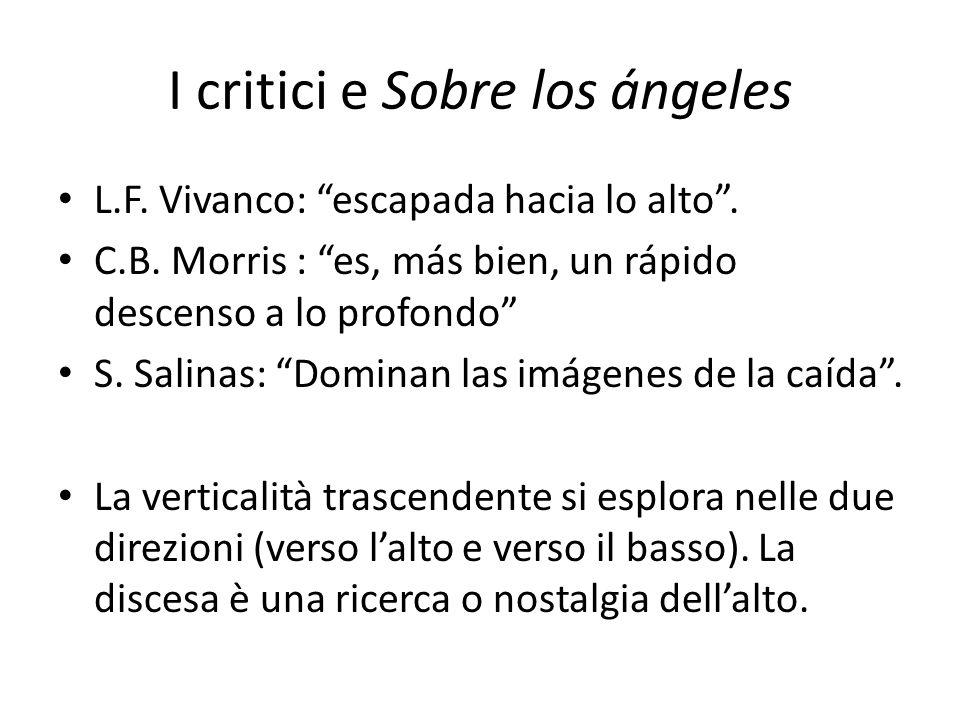 I critici e Sobre los ángeles