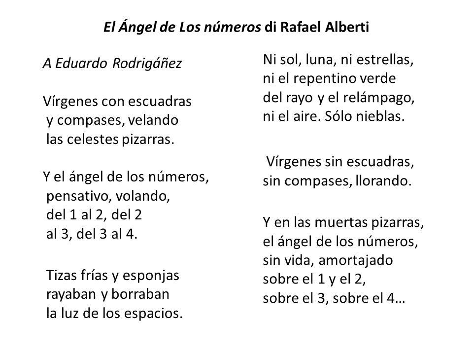 El Ángel de Los números di Rafael Alberti