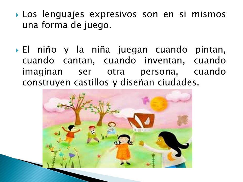 Los lenguajes expresivos son en si mismos una forma de juego.
