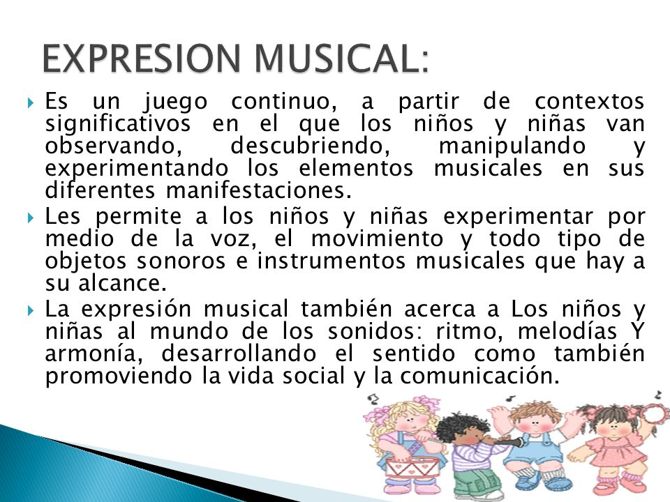 EXPRESION MUSICAL: