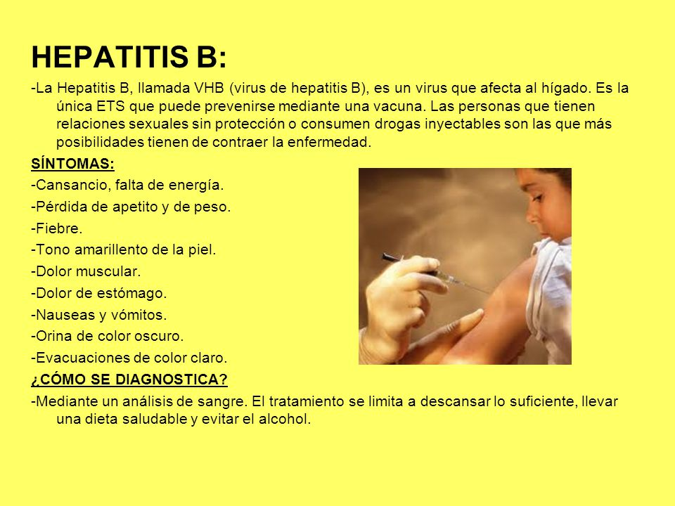HEPATITIS B:
