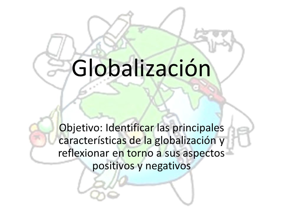 Globalizaci n objetivo identificar las principales for Caracteristicas de la oficina wikipedia