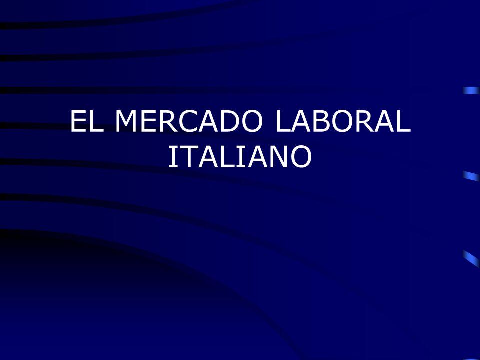 EL MERCADO LABORAL ITALIANO