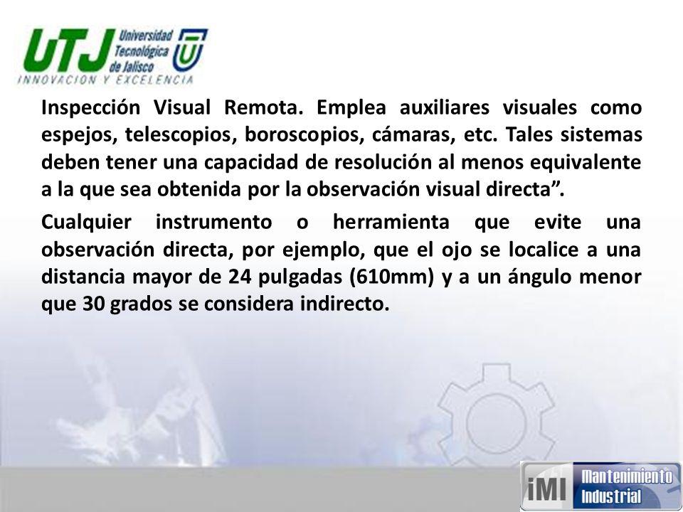 Inspección Visual Remota