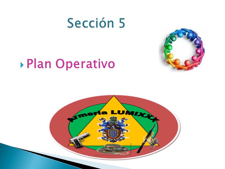 Sección 5 Plan Operativo