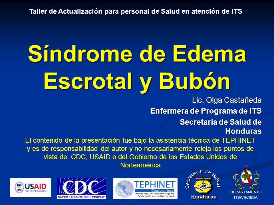 Síndrome de Edema Escrotal y Bubón