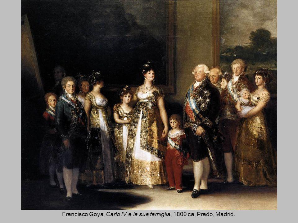 Francisco Goya, Carlo IV e la sua famiglia, 1800 ca, Prado, Madrid.