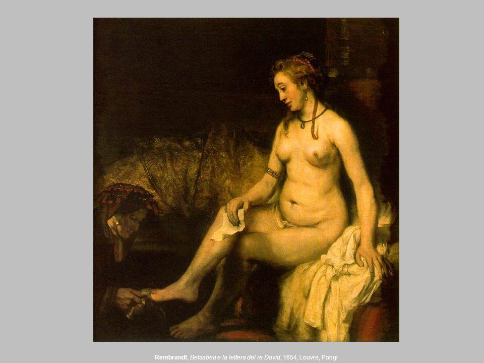 Rembrandt, Betsabea e la lettera del re David, 1654, Louvre, Parigi
