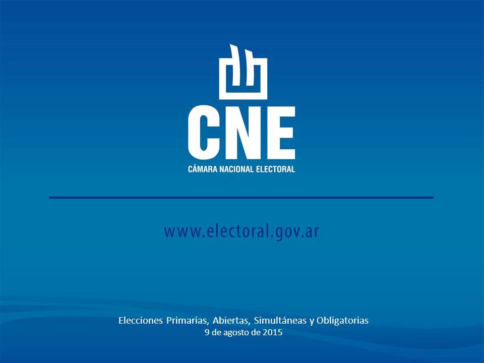 Elecciones Primarias, Abiertas, Simultáneas y Obligatorias